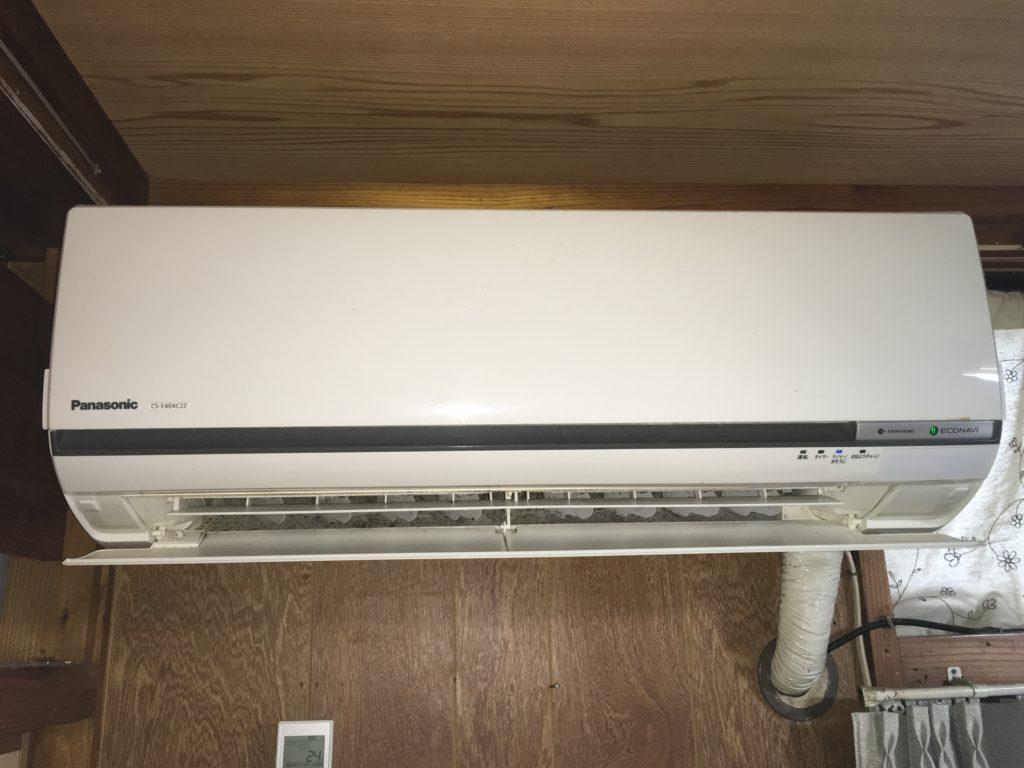 Panasonic お掃除機能付きエアコンクリーニング