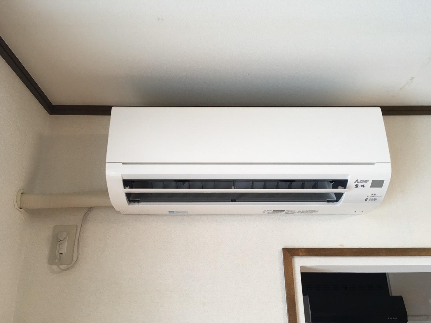 一台目のエアコンの画像